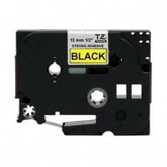 Brother Trak Brother za tiskalnike P-touch TZEC31 fluo rumen/črn, 12 mm