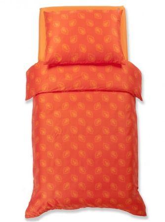 Odeja Harmony posteljnina, 200 x 200 cm + 2 x 60 x 80 cm, oranžna