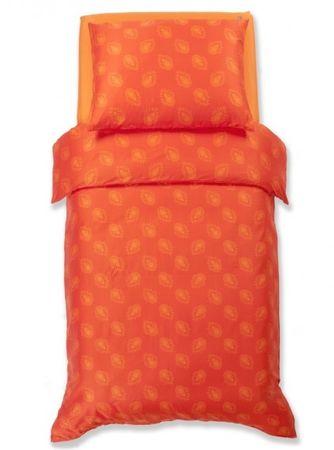 Odeja Harmony posteljnina, 200 x 260 cm + 2 x 60 x 80 cm, oranžna