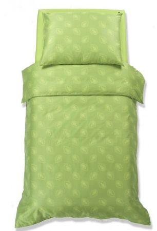 Odeja Harmony posteljnina, 200 x 260 cm + 2 x 60 x 80 cm, zelena