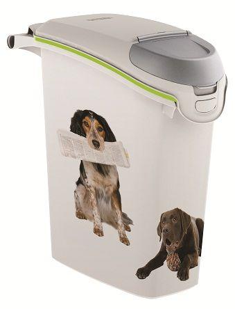 CURVER posuda za 10 kg, bijela, motiv štenca