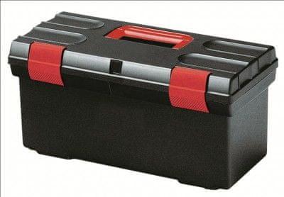 """Curver kovček za orodje 20"""", črno/rdeč"""
