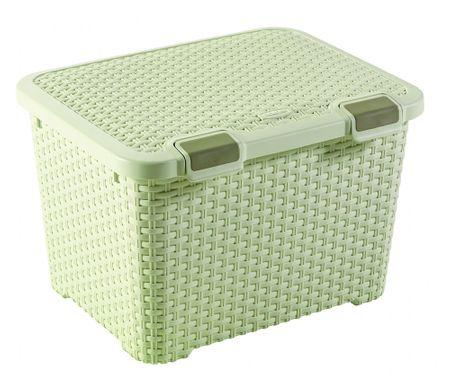 Curver škatla za shranjevanje Rattan Style, 43 l