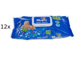 Magics Chusteczki nawilżane Premium - 864 sztuk (12 x 72)