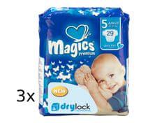 Magics Pieluchy Premium Junior Jumbopack, 87 szt.