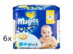 Magics Pieluchy Premium Mini Megapack, 234 szt.