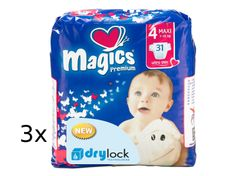 Magics Premium Maxi Jumbopack pelenka, 93 db
