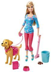 Barbie Kutyagondozó Szett Baba