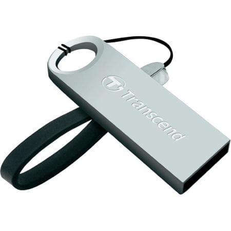 Transcend USB ključek JetFlash 520S, 32 GB, srebrn
