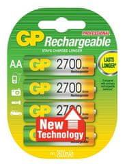 GP baterije NiMH AA 2700 mAh 4 kom