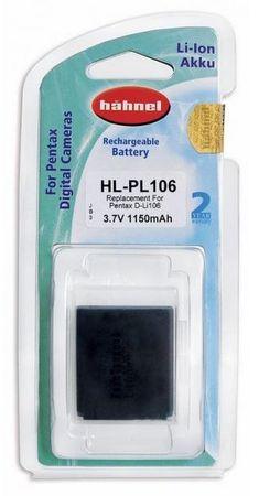 Hähnel Baterija Hahnel Li-Ion HL-PL106 (za Pentax D-Li106)