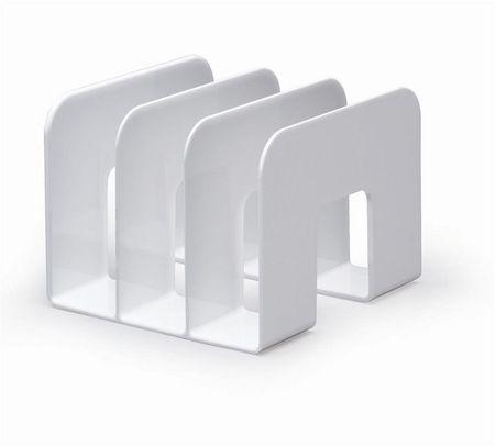Durable Stojalo za kataloge Trend, belo