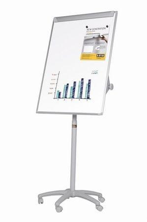 Bi-Office Samostoječa magnetna tabla Maya Mobile, 70 x 100 cm, brez izvlečnih rok