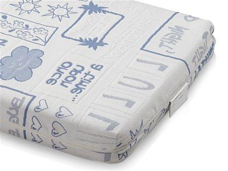 Dormeo ležišče Baby, modro, 60 x 120 cm