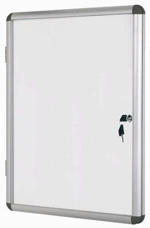 Bi-Office Oglasna omarica s ključem Bi-Office, magnetna, 4 x A4