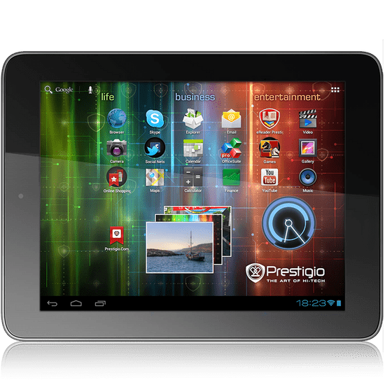 Prestigio MultiPad PMP5780, Wi-Fi