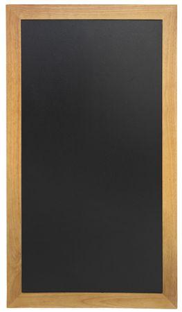 Securit Dolga črna kredna tabla Securit, tikov okvir, 56 x 150 cm