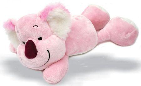 Debbie Koala ležeča, 30 cm, roza