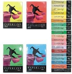 Paperline Barvni pisarniški papir A4, 500 listov, črn