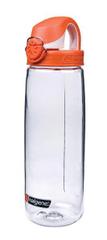 Nalgene boca Tritan OTF, 0,65 l, prozirna, narančasti čep