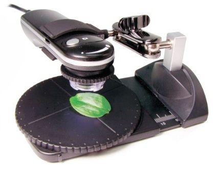 Digitalni USB mikroskop z vrtljivim podstavkom