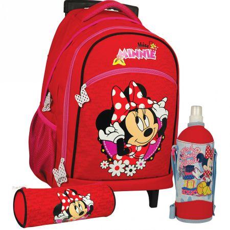 Sun Ce Školní batoh na kolečkách set MINNIE - Parametry  4efd7e9b3a