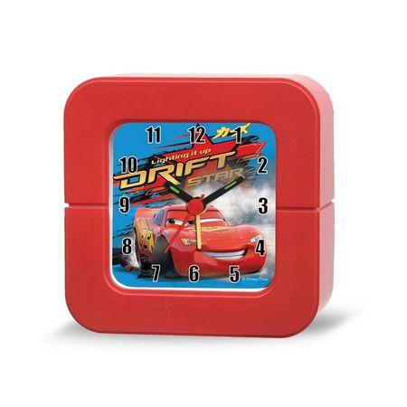 Budilka Disney Cars, 10 x 10 cm