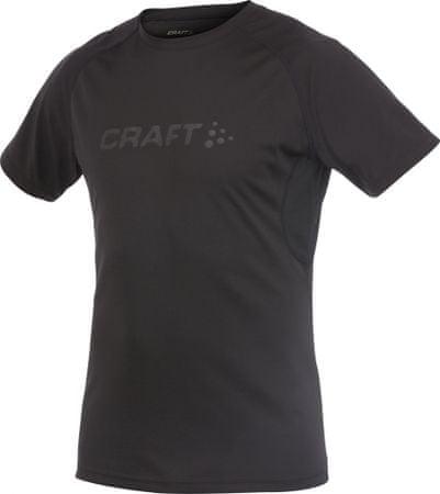Craft tekaška majica Active Run SS Tee, moška, črna, XXL