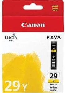 Canon Kartuša PGI-29 Y Yellow (4875B001AA)