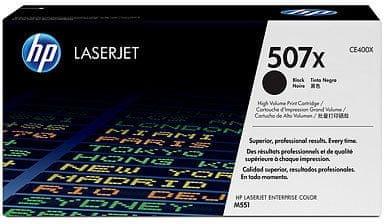 HP toner CE400X 507X, 11000 stranica, crni