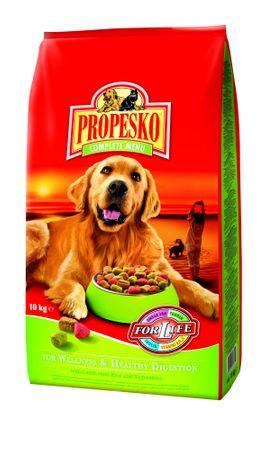 Propesko hrana za odrasle pse Welness, 10 kg - odšrta embalaža