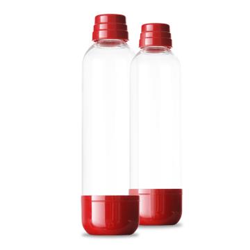 LIMO BAR Soda láhev 1 l dark red - tmavě červená - 2pack