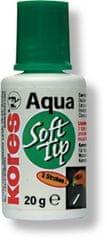 Opravný lak KORES Aqua Soft Tip 25 g s houbičkou