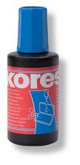 Razítková barva Kores modrá 28 ml