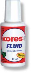 Opravný lak KORES Fluid 20 ml se štětečkem