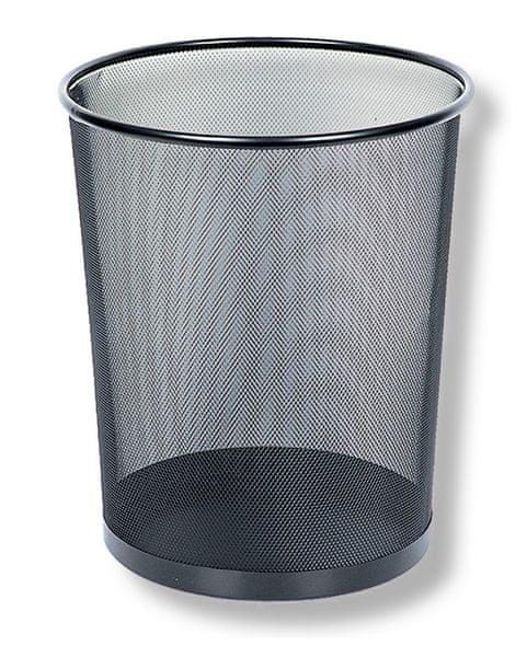 Drátěný program koš odpadkový černý