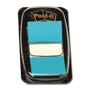 Záložky samolepicí Post-it 25,4 x 43,2/50 ks azurové