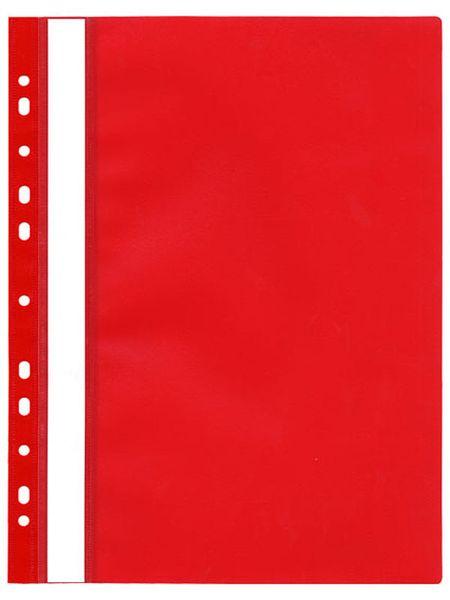 Rychlovazač plastový s euroděrováním červený
