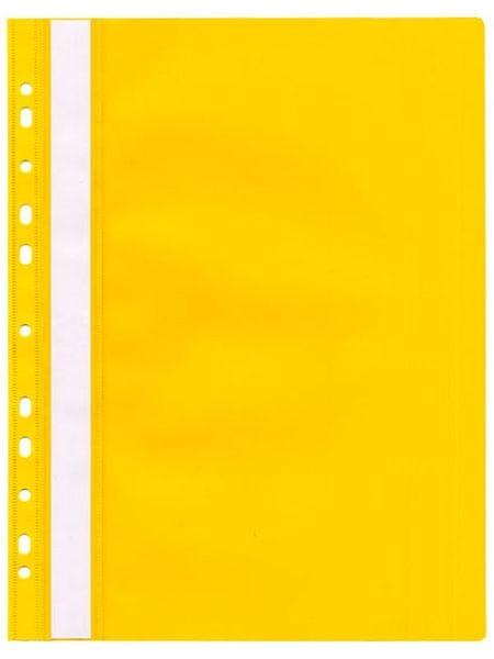 Rychlovazač plastový s euroděrováním žlutý