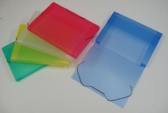 Box na spisy PP ICE A4 zelený