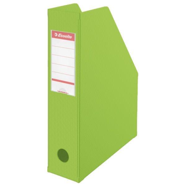 Stojan na časopisy 7 cm Esselte VIVIDA Economy zelený
