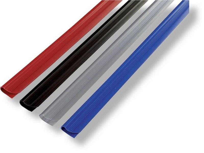 Hřbet nasouvací RELIDO /50ks 12 mm modrý