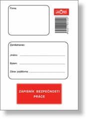 Zápisník bezpečnosti práce A6, blok 32 L