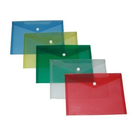 Karton P+P Spisovka s drukem A4 průhledná modrá