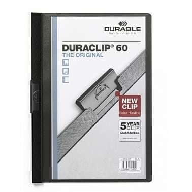 Desky DURACLIP A4/60 černé