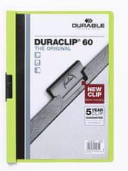 Desky DURACLIP A4/60 žluté