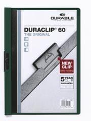 Desky DURACLIP A4/60 zelené