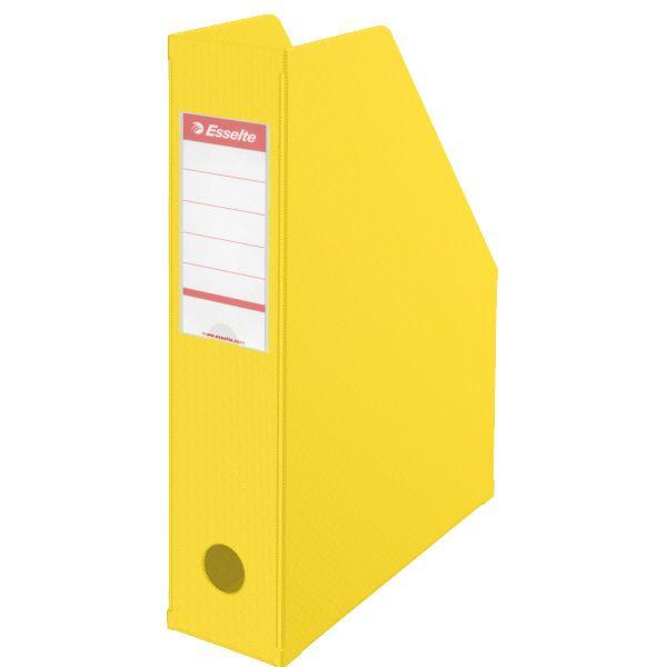 Stojan na časopisy 7 cm Esselte VIVIDA Economy žlutý
