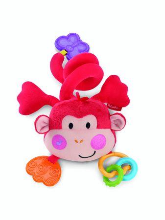 Fisher-Price Plyšová opička na kočárek