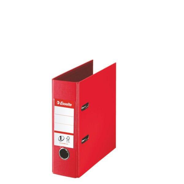 Pořadač pákový Esselte No.1 POWER VIVIDA A5 7,5 cm červený
